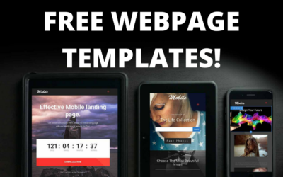Three Cool Divi Page Templates
