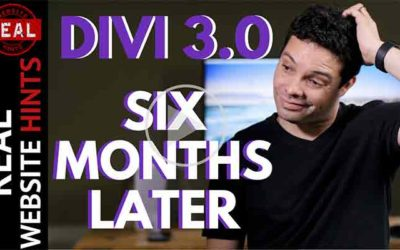 Divi 3 Review 2017. What is Divi 3.0 it like after 6 months?